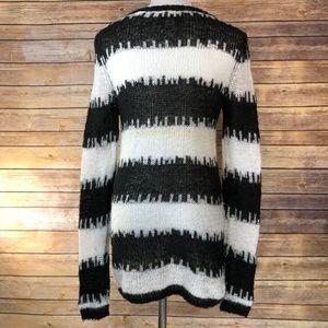 Cheap Monday Broken Stripe Last Knit Sweater